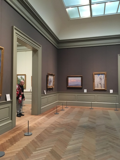 some historical paintings. these rooms had pieces from monet, picasso, van gogh, and more.
