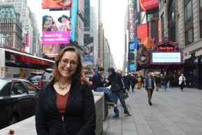 my beautiful mama in times square