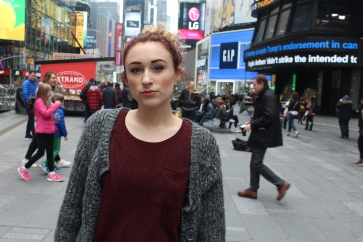 hangin' in times square