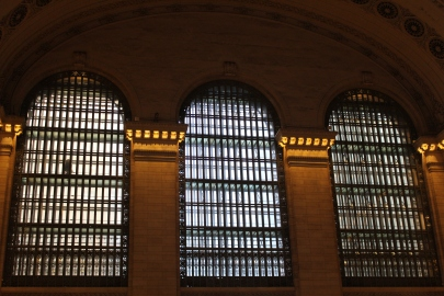 some windows in grand central station