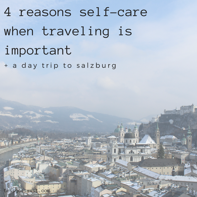 4 reasons self-care when traveling is important